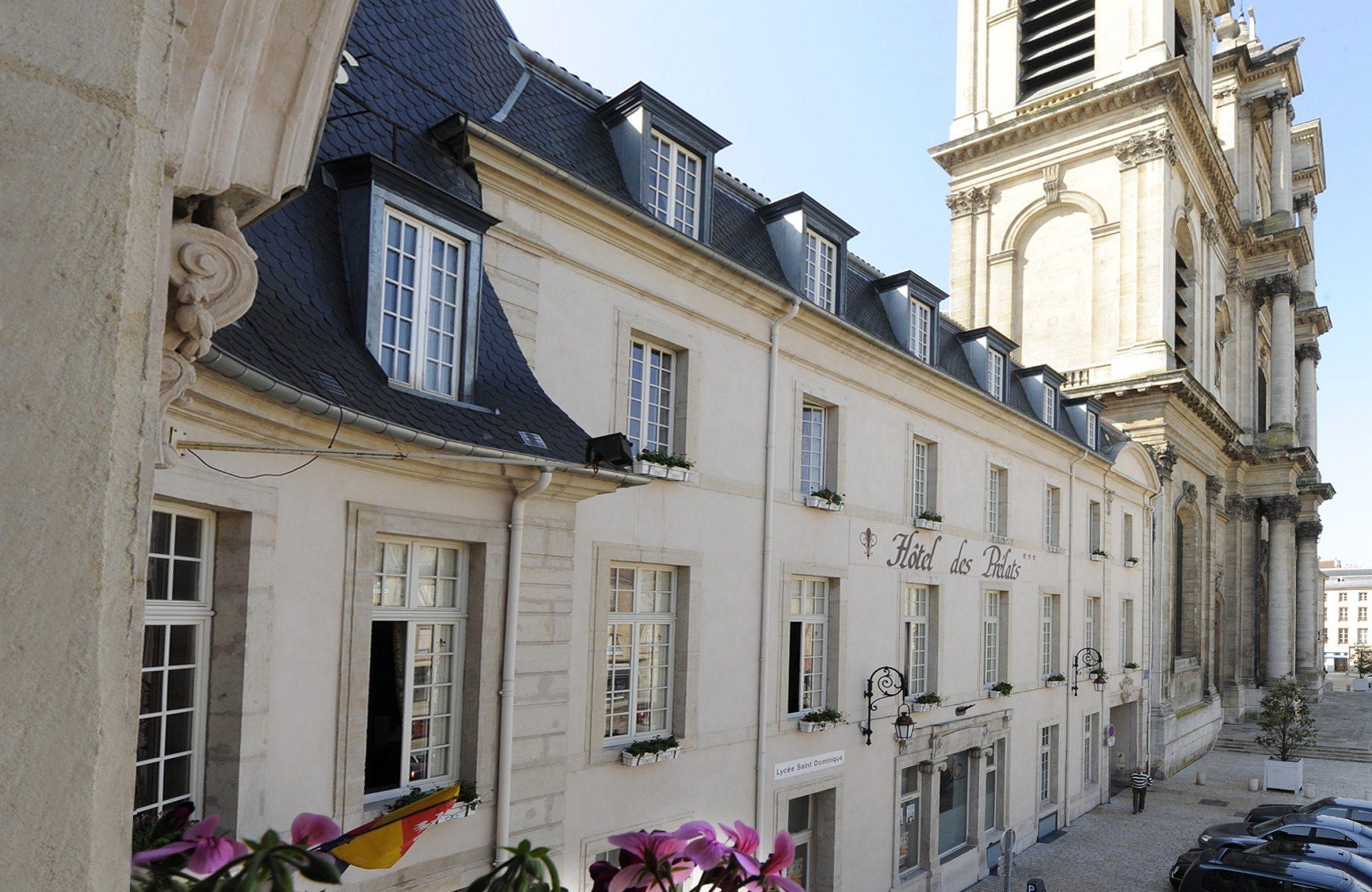 Hôtel des Prélats au centre de Nancy