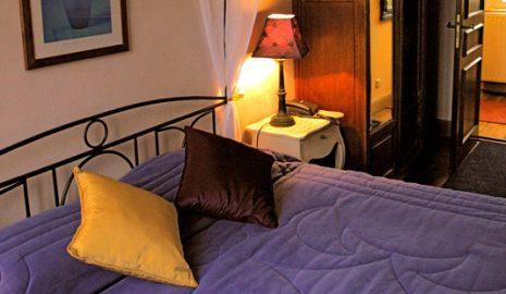 Suite, chambre, salon à l'Hôtel des Prélats au centre de Nancy